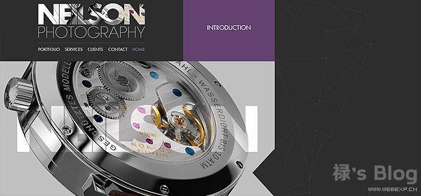 开动大脑!20个顶尖的HTML5动画网站欣赏!8.Neilson Photography