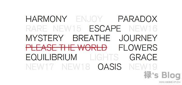 开动大脑!20个顶尖的HTML5动画网站欣赏!13.Issey Miyake Parfums