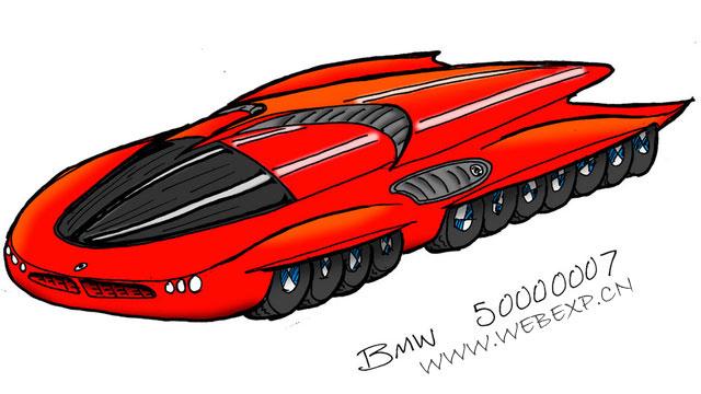 尊重别人的梦想,宝马公司为4岁男孩实现梦想设计了一款汽车,BMW4219Eli!